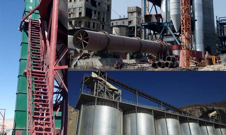auxiliary equipment of steel silo