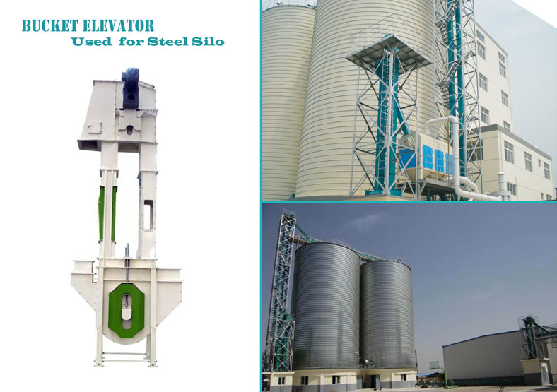 bucket elevator for steel silo
