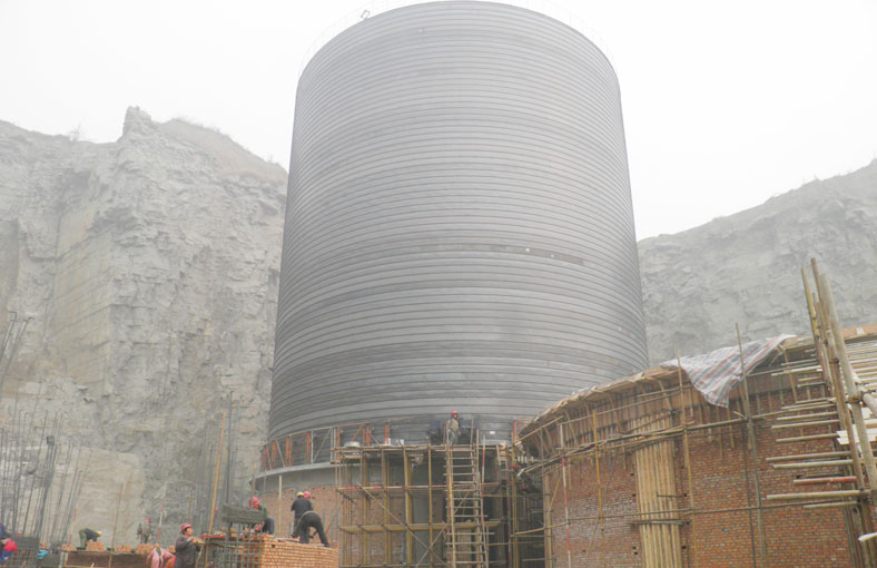 cement silo in guangxi