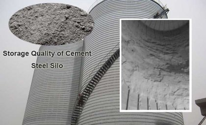 How to deal with cement agglomeration in cement silo?