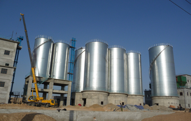 chemical silo plant