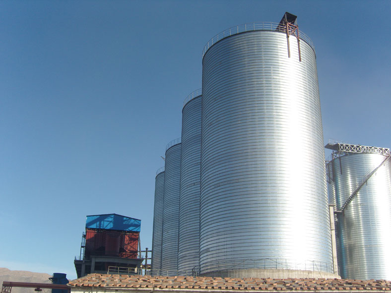 chemical storage silo project in hunan province