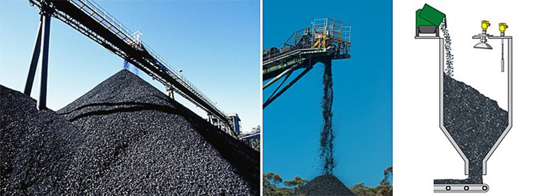 deliver coal to silo