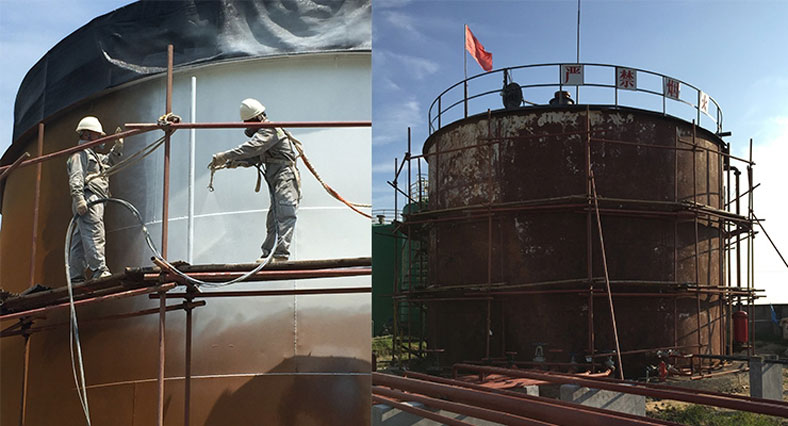 How to correctly use chemicals storage silo to store corrosive chemical product?