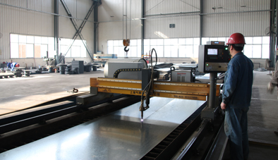 factory using machine