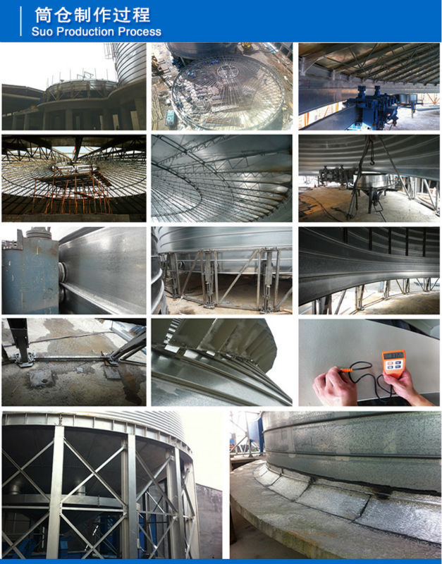 process of silo construction