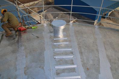 silo top details